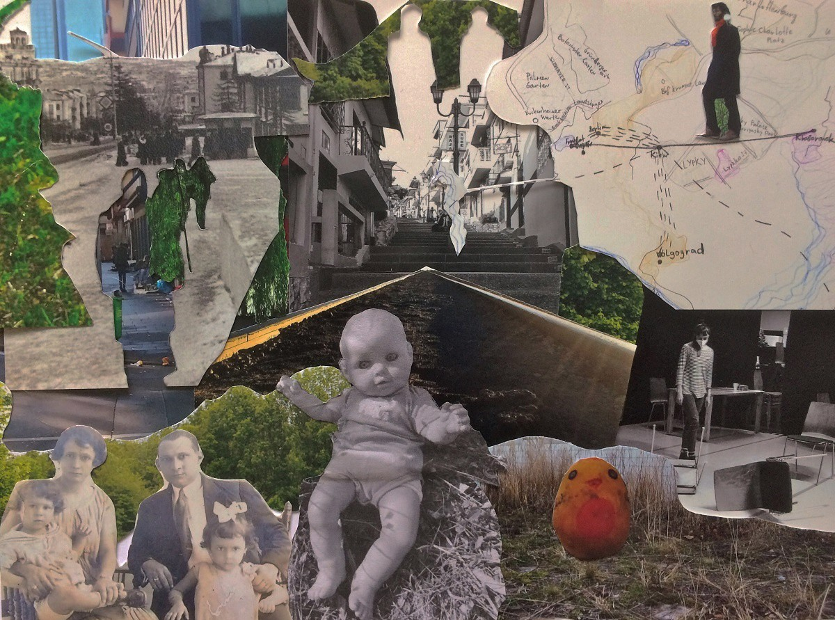 Collage by Olga Popova_Daydreaming the Archive - Kopie